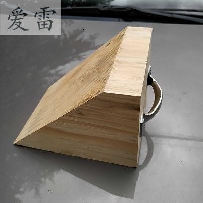 汽車大貨車防溜車止退器擋輪車輪防滑三角木塊墊定位固定器阻車器