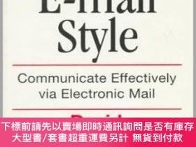 二手書博民逛書店Elements罕見Of E-mail StyleY255174 David Angell Addison-w