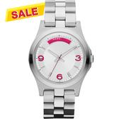 Marc Jacobs 時尚青春魅力腕錶-銀 MBM3161