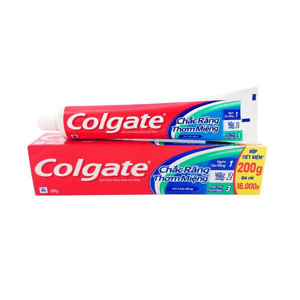 Colgate高露潔 牙膏 三重防護200g/條{嘉家生活網}