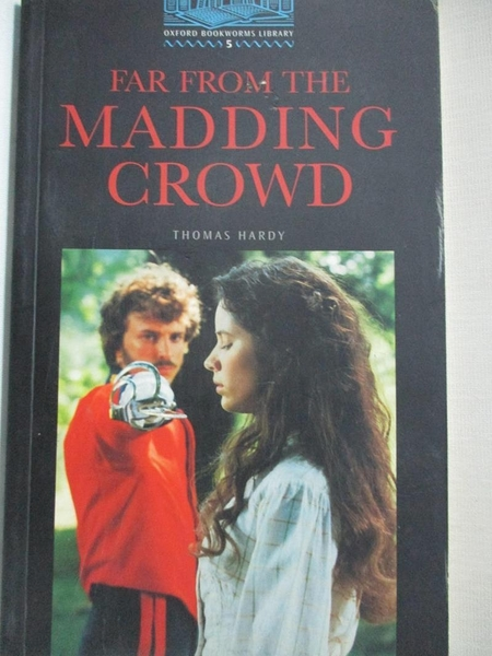 【書寶二手書T9/原文小說_GFA】Far from the Madding Crowd_Hardy, Thomas/ West, Clare (CO