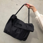 尼龍包側背包男女休閒尼龍港風簡約大容量旅行斜背包新品
