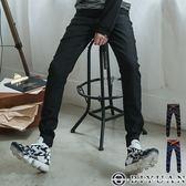 加大尺碼專區 束口牛仔褲【EJ88029】OBIYUAN 韓版素面JOGGER丹寧褲 共2色