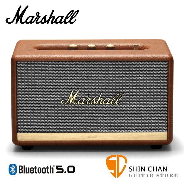 【缺貨】Marshall Acton II 藍牙喇叭 復古棕 全新2代 Acton Ⅱ 無線喇叭 藍牙音箱音響 / 台灣公司貨