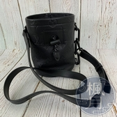 BRAND楓月 LOUIS VUITTON LV 路易威登 M44628 NANO CHALK MINI款 黑色 水桶包