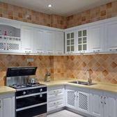 廚房防油貼紙自粘柜灶臺用耐高溫壁紙墻貼防水油煙加厚家用瓷磚貼