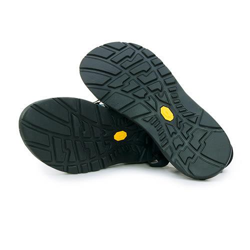 LIKA夢 LOTTO 輕量織帶運動涼鞋 街頭流行時尚系列 黑 5270  男