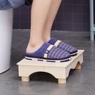 腳踏板 實木腳踏凳學習桌墊腳廁所辦公室家用小臺階兒童增高踩腳凳衛生間 維多原創