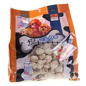 【寵物王國】armonto阿曼特-天然潔牙牛奶牛皮骨結 大包裝(2.5吋)【120入】1050g