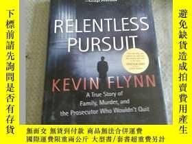 二手書博民逛書店英文原版罕見Relentless Pursuit: A True