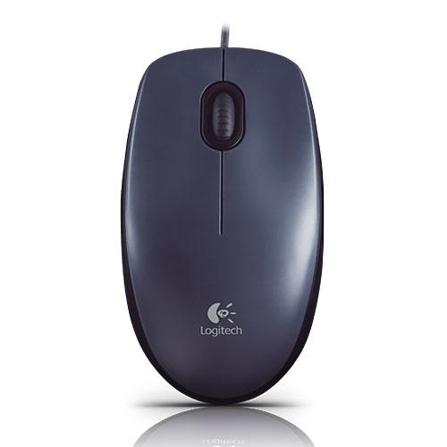 Logitech 羅技 M90 USB 光學 有線滑鼠