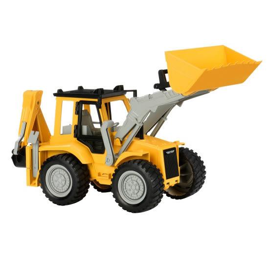 【奇買親子購物網】美國 BATTAT DRIVEN 系列(推土機/挖土機)