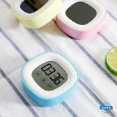 計時器觸摸大屏幕聲音家用廚房觸屏定時提醒器兒童電子秒錶學生倒計時器