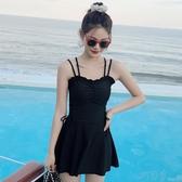 游泳衣女連身 遮肚顯瘦保守2020新款韓國ins風溫泉性感仙女範泳裝 町目家