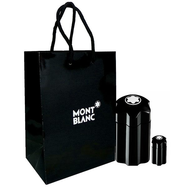 Montblanc Emblem 萬寶龍男性淡香水 60ml 搭贈同款 4.5ml 小香 + 紙袋