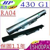 HP RA04 電池(保固最久)-惠普 430 G1,RA04,E5H00PA,HSTNN-IB4L H6L28AA,HSTNN-W01C,430G1,707618-121,768549-001