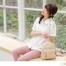《AB14983-》高含棉滿版刺繡小玫瑰泡泡袖襯衫 OB嚴選