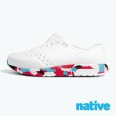 native 小童鞋 LENNOX 小雷諾鞋-貝殼白x金平糖