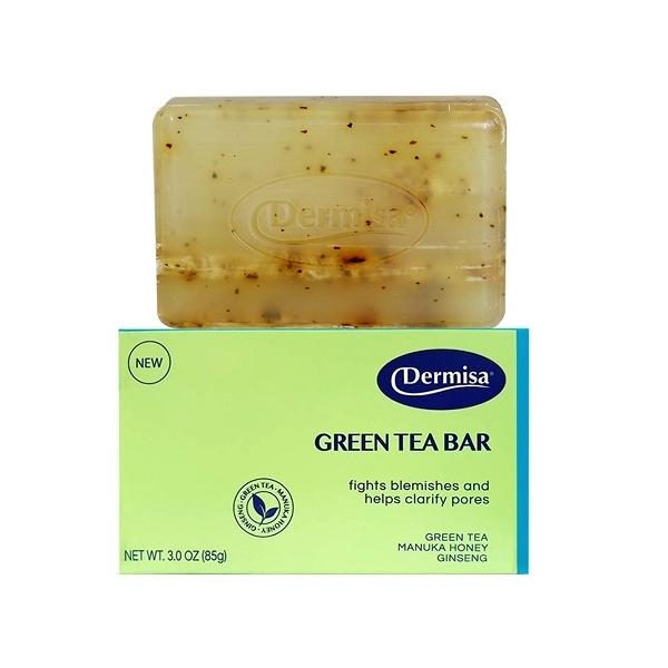 美國 Dermisa 綠茶淨膚皂(85g)【小三美日】