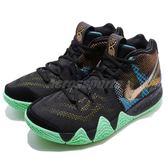 Nike Kyrie 4 Mamba Metality EP 黑 黃 綠 男鞋 籃球鞋 XDR 【PUMP306】 AV2594-001