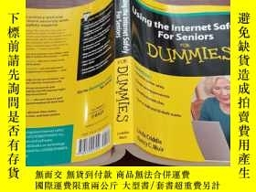 二手書博民逛書店Using罕見the Internet Safely For Senior s For DummiesY154