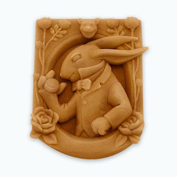 香草模子~愛麗絲夢遊仙境-懷錶兔子