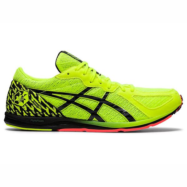 Asics Sortie Magic [1093A132-750] 男鞋 慢跑鞋 運動 休閒 輕量 支撐 緩衝 螢黃 黑