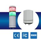 LED警示燈 NLA50DC-2B6D-RG IP53 2.4W DC 24V 積層燈/三色燈/多層式/報警燈/適用機械自動化設備