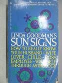 【書寶二手書T1/原文小說_MBW】Linda Goodman s Sun Signs