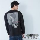 【OBIYUAN】長袖T恤 衣服 人像印花 韓板上衣 薄長T 共4色【X801】