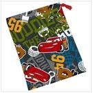 日本 DISNEY 麥昆CAR'S car's 漱口杯專用束口袋/小物袋/零食袋