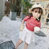 短袖t恤3歲夏裝童裝女童嬰幼兒純棉刺繡上衣小童體恤