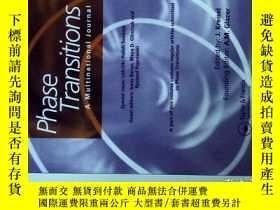 二手書博民逛書店Phase罕見Transitions A Multinational Journal 09 2017Y1144
