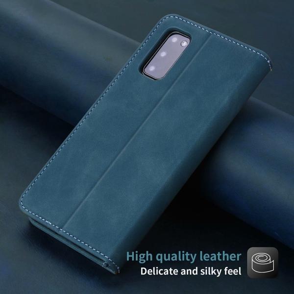 商務磁吸插卡翻蓋皮套 三星Note20/10/9保護殼 三星note 10pus手機殼 SamSung保護套 Galaxy n20 Ultra手機套