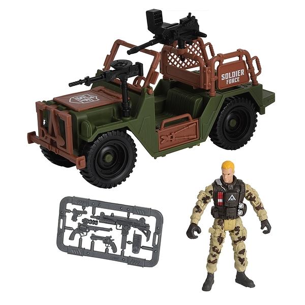 Soldier Force 吉普車套裝 玩具反斗城