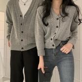 針織外套 柔軟針織衫2020秋季新款韓版情侶裝長袖開衫外套