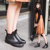 雨靴夏季時尚雨鞋女短筒雨靴成人防水套鞋韓國低幫膠鞋防滑加絨水鞋女 奈斯女裝