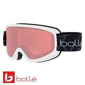 法國 Bolle FREEZE 雙層鏡片設計 防霧雪鏡 霧白/朱紅 #21877