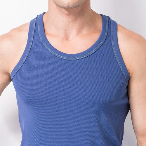 《MORINO》休閒機能★吸汗速乾運動背心★-淺藍色