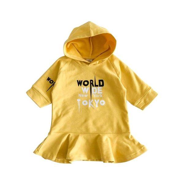 萬聖節狂歡 女童連身裙長袖春裝2018新款童裝兒童女寶寶裙子小童1-2-3歲4 桃園百貨