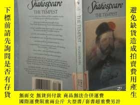 二手書博民逛書店William罕見Shakespeare:The Tempest (英文原版 36開)Y13462 莎士比亞