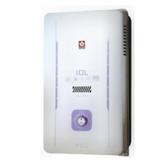(含標準安裝)櫻花10公升(與GH1005同款)熱水器水盤式GH-1005