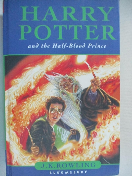 【書寶二手書T9/原文小說_AJS】Harry Potter and the Half-Blood prince_J. K. Rowling