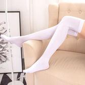 洛麗塔襪子-加長洛麗塔Lolita天鵝絨過膝襪女高筒襪長腿高個子絲襪cos黑絲襪 完美情人館