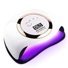 【日本代購】BLUEQUE 168W UV燈專業 美甲吹風機 美甲光療機 指甲烘乾機