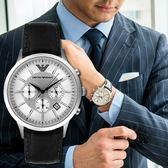 EMPORIO ARMANI 亞曼尼 AR2432 王者風範時尚精品錶 熱賣中!