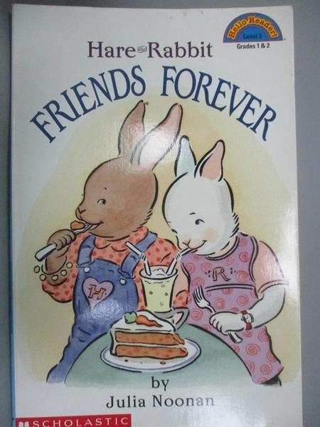 【書寶二手書T5/少年童書_J4A】Hare and Rabbit: Friends Forever_Julia Noo
