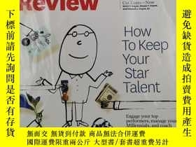 二手書博民逛書店harvard罕見business review how to keep your star talentY1