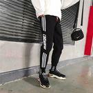 寬褲男寬鬆歐美街頭個性潮牌束腳韓製潮流青年運動嘻哈長褲 S-2XL 「名創家居生活館」