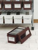 cd收納盒 家用dvd收納碟片光盤盒日本進口漫畫專輯整理 ps4收納箱【完美3c館】